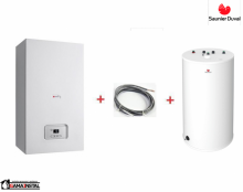 Saunier Duval pakiet Thelia Condens AS 30 + czujnik NTC temperatury zasobnika + zasobnik FE 150/6 BM 0010019700